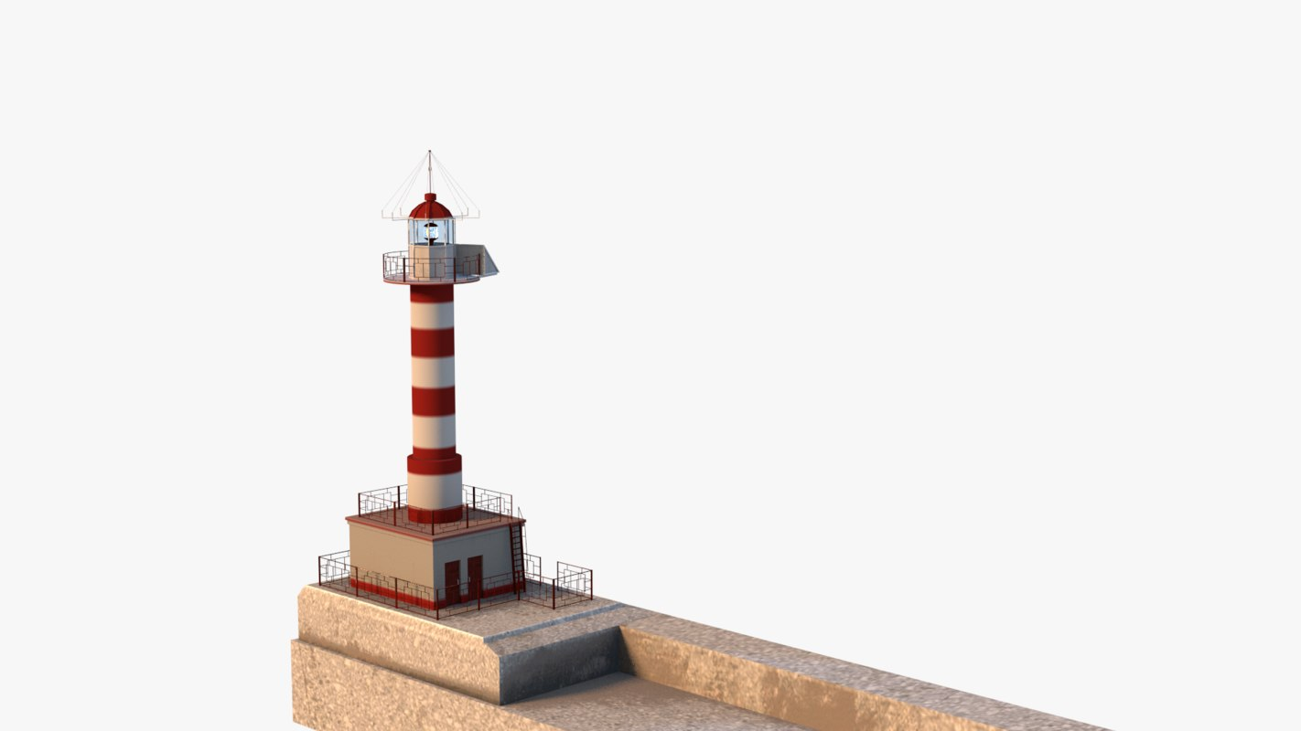 lwo lighthouse sea