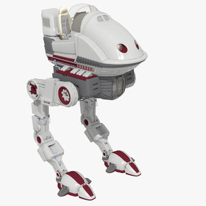 max walker mech futuristic