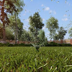 3d model irrigation