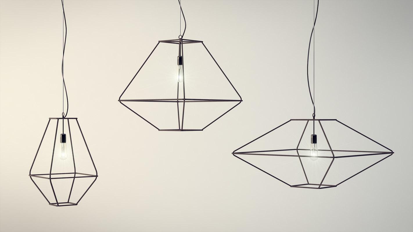 opinion ciatti lamp 3d model