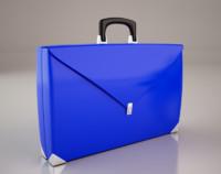 3d cartoon suitcase model