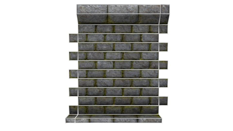 3d tileable wall