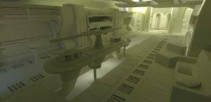 dae spaceship living quarters