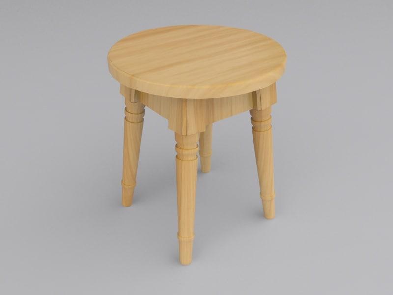 maya stool domino