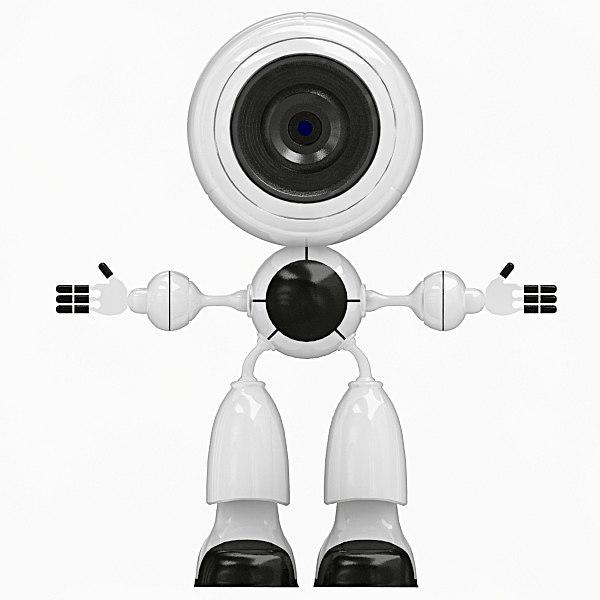 smart robot robo 3d 3ds