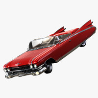 cadillac eldorado biarritz convertible 3d max