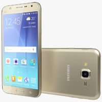 3d realistic samsung galaxy j7 model