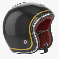 Motorcycles Helmet Ruby black
