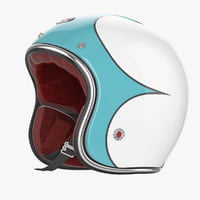 Motorcycles Helmet Ruby blue