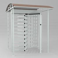 perco rtd-15 turnstile 3d model