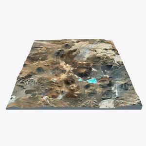 3ds max volcano landscape