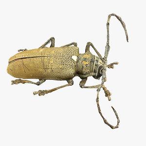 realistic beetle 3d 3ds