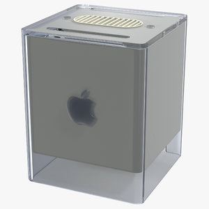 3d model apple power macintosh g4