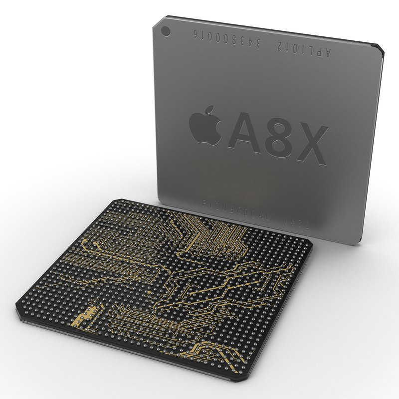 mobile chip ax series 3d max