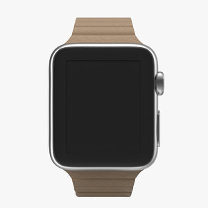 3d model apple watch 38mm magnetic