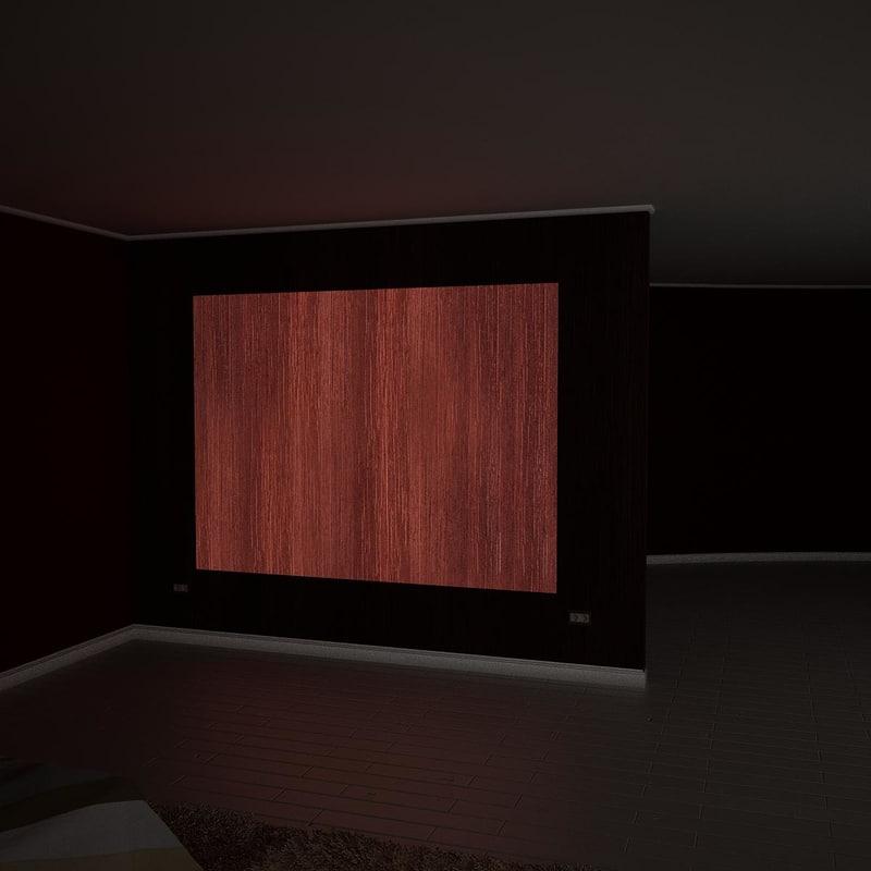 v-ray light wall 3d model