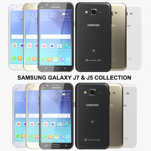 realistic samsung galaxy j7 3ds