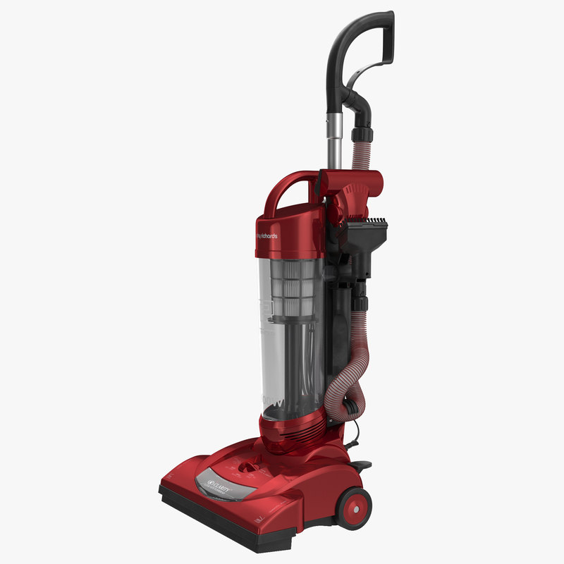 3d model upright vacuum cleaner cleaning