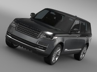 range rover svautobiography lwb 3d model