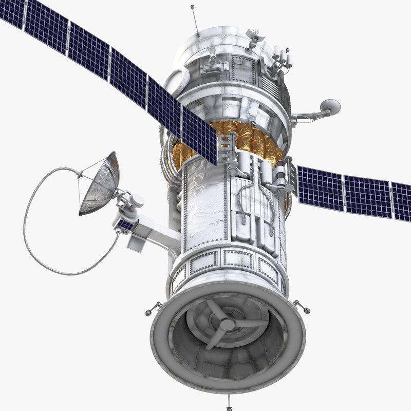 big satelite 1 3d model