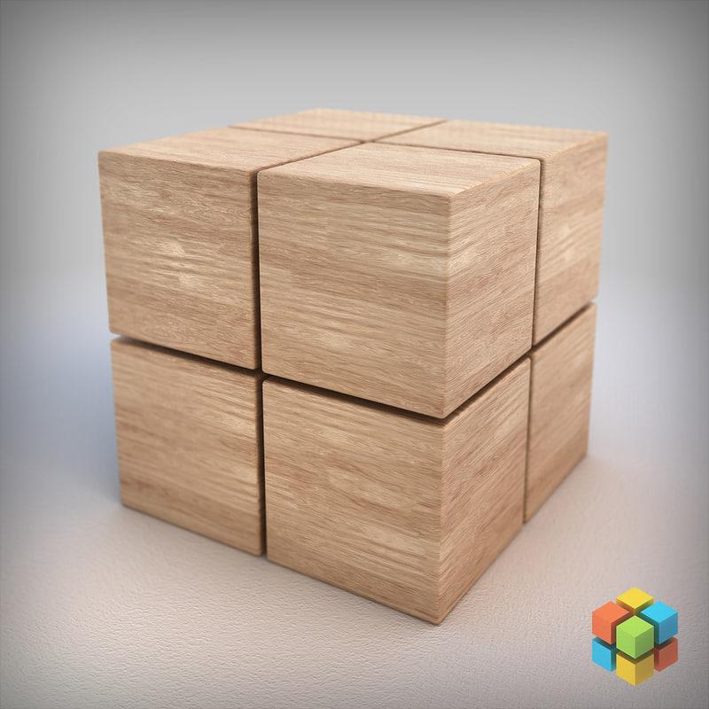 3d wood 01 - pixels