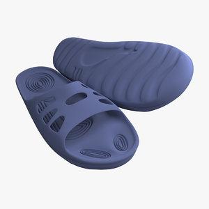 3d slippers quad