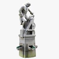 statue 3d max
