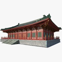 3ds max chinese palace