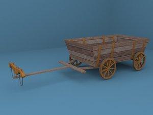3ds max wagon