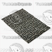 amara rug smart dm-silver 3d model