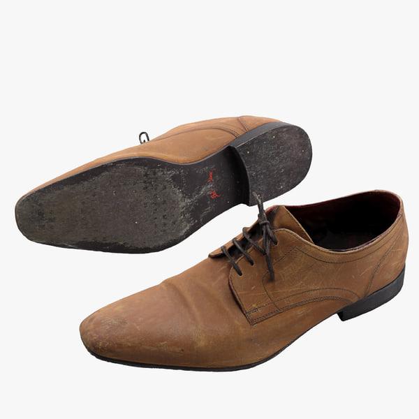 derby shoe 3ds