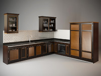 3d model le cucine dell eleganza