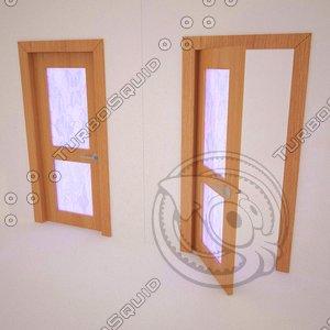 door stained-glass window 3d model