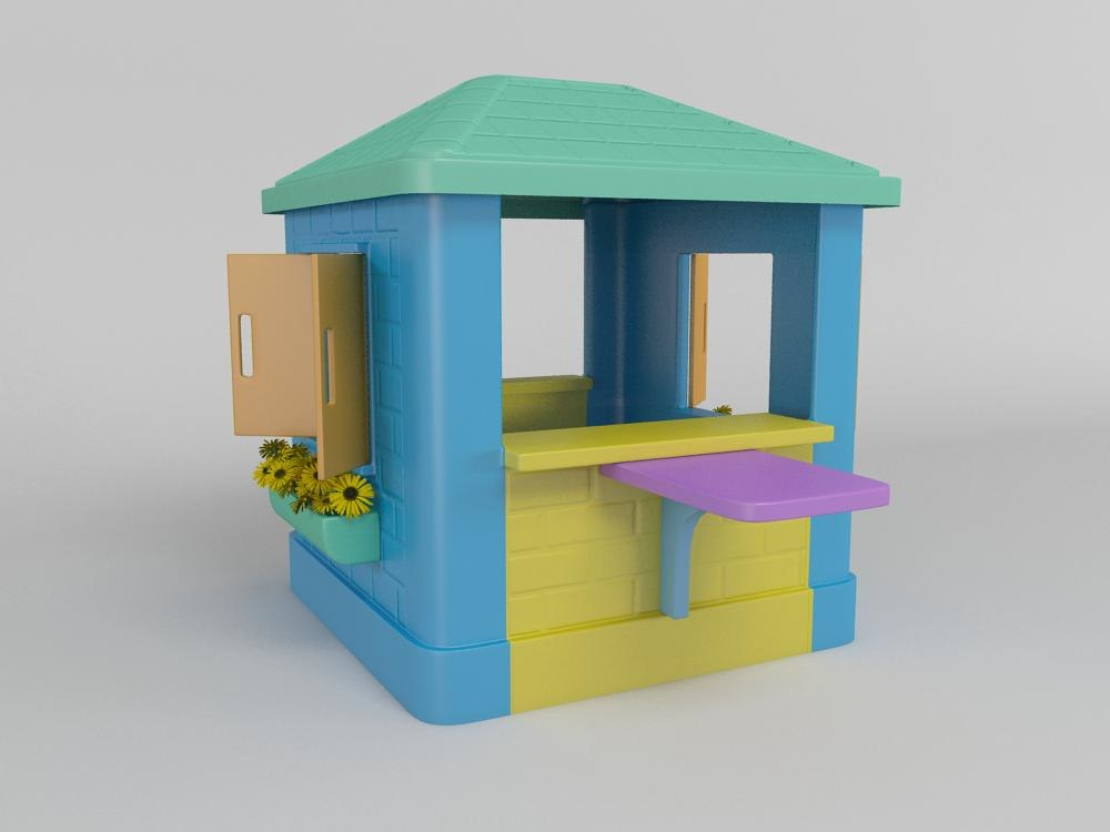 max children playhouse
