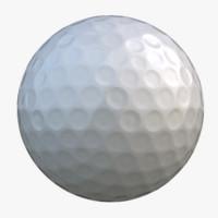 free obj model golf ball