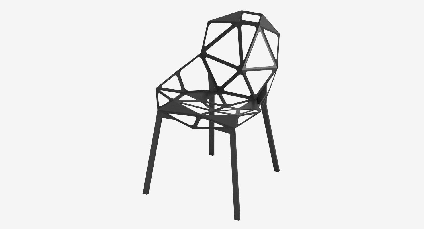 3d konstantin grcic chair