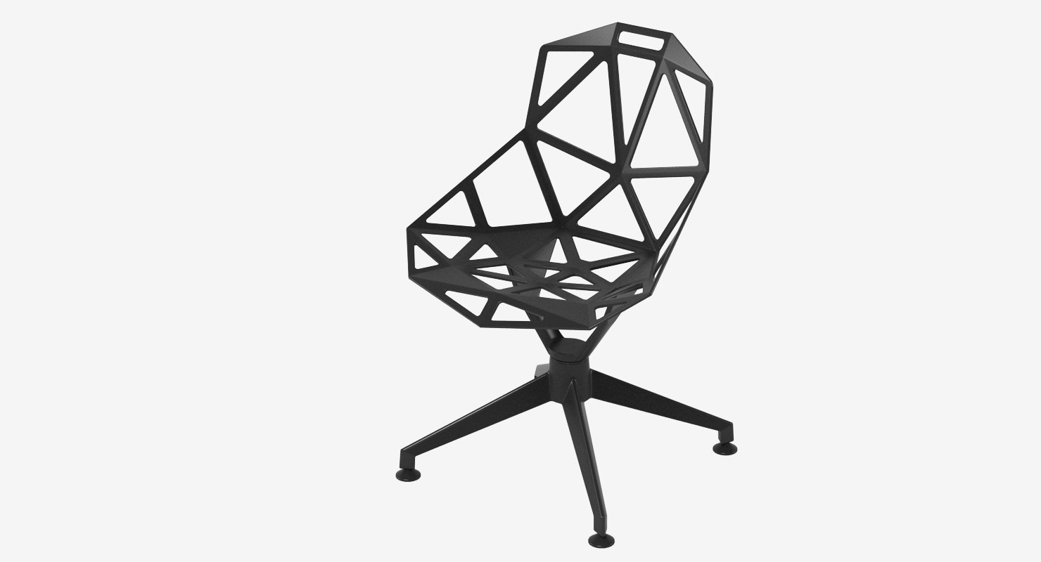 3ds max konstantin grcic chair
