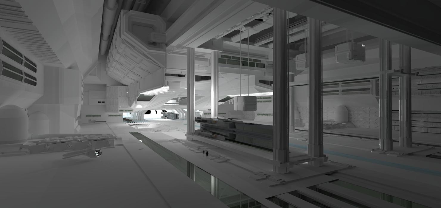 3d hangar bay