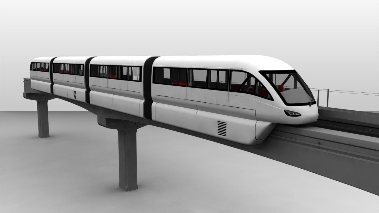 3d sutra monorail scomi rail train