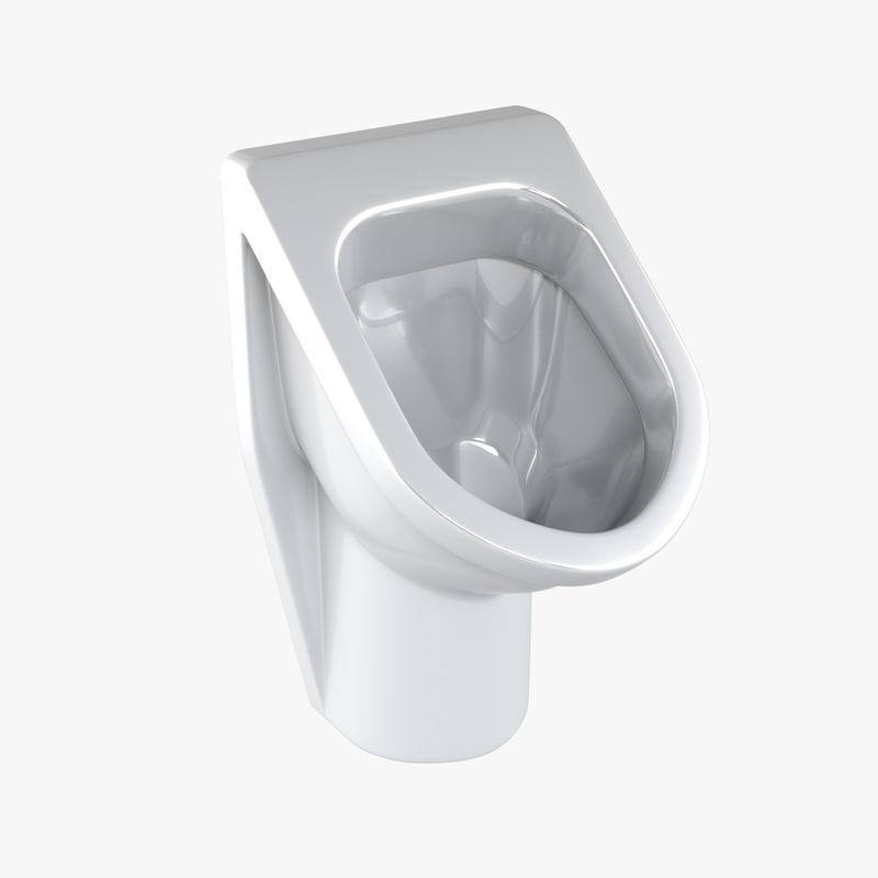 urinal 01 3d max