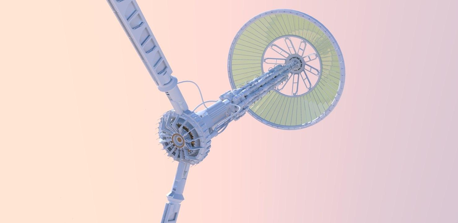 3d space probe