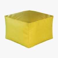 pouf morfino 3d max