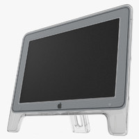 3d model of apple studio display modeled