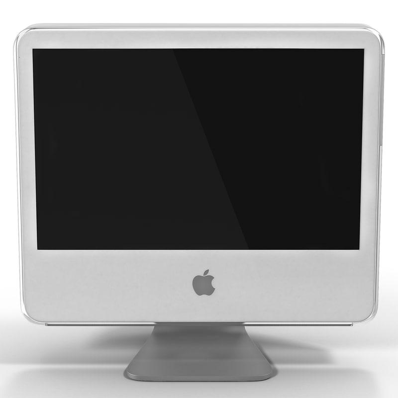 3d 3ds apple imac g5