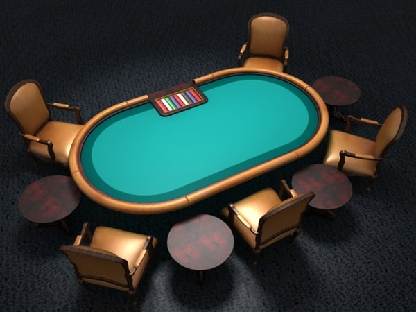 poker table 2 different max
