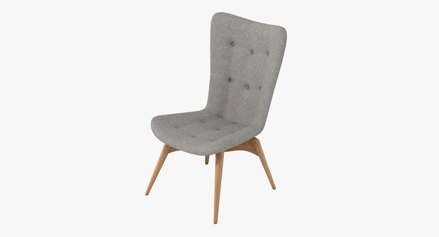 3ds max grant featherston r152 chair furniture