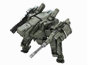 3d max robot fighter