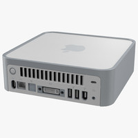 max original mac mini modeled
