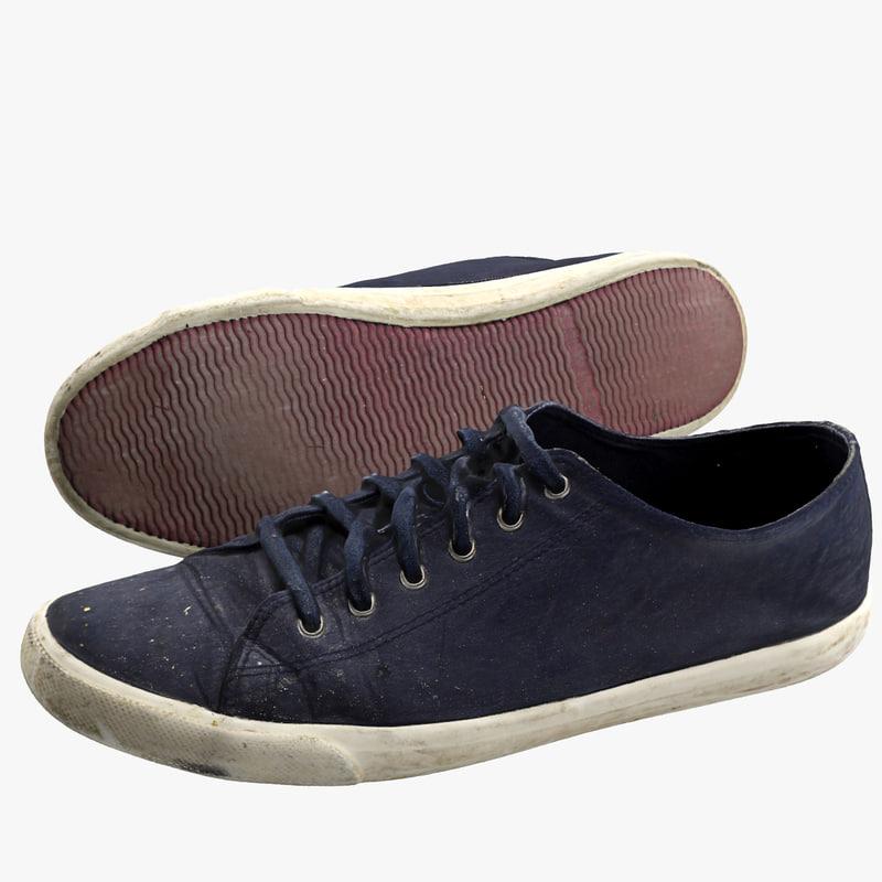 3d casual shoe