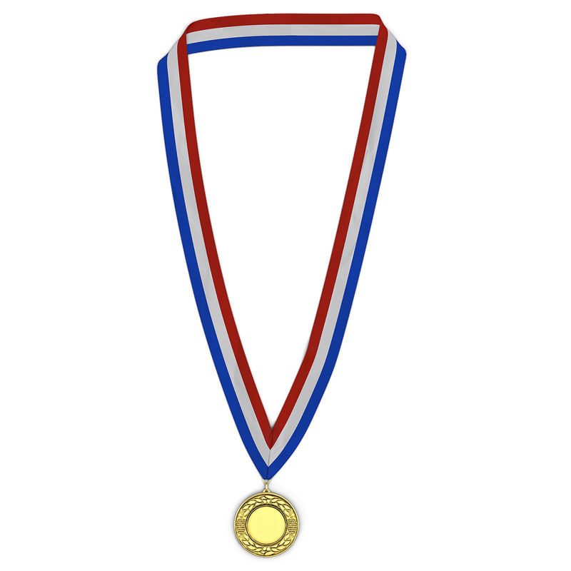 obj award medal gold
